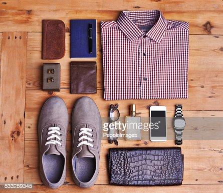 Elegante Accessoires : Stock-Foto