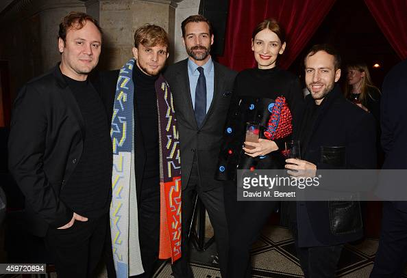 Accessory Designer nominee Nicholas Kirkwood New Establishment Designer nominee Christopher de Vos Patrick Grant Red Carpet Designer nominee Roksanda...