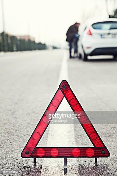 Unfall auf der Straße