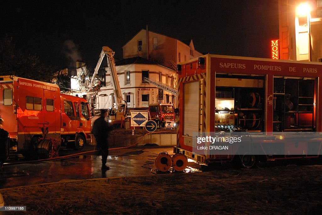 Accidental explosion In Bondy, France On October 30, 2007-An explosion, due to the accidental perforation of a gaz duct, at the time of public roads care, partly blew up a restaurant in Bondy, Seine-St-Denis.