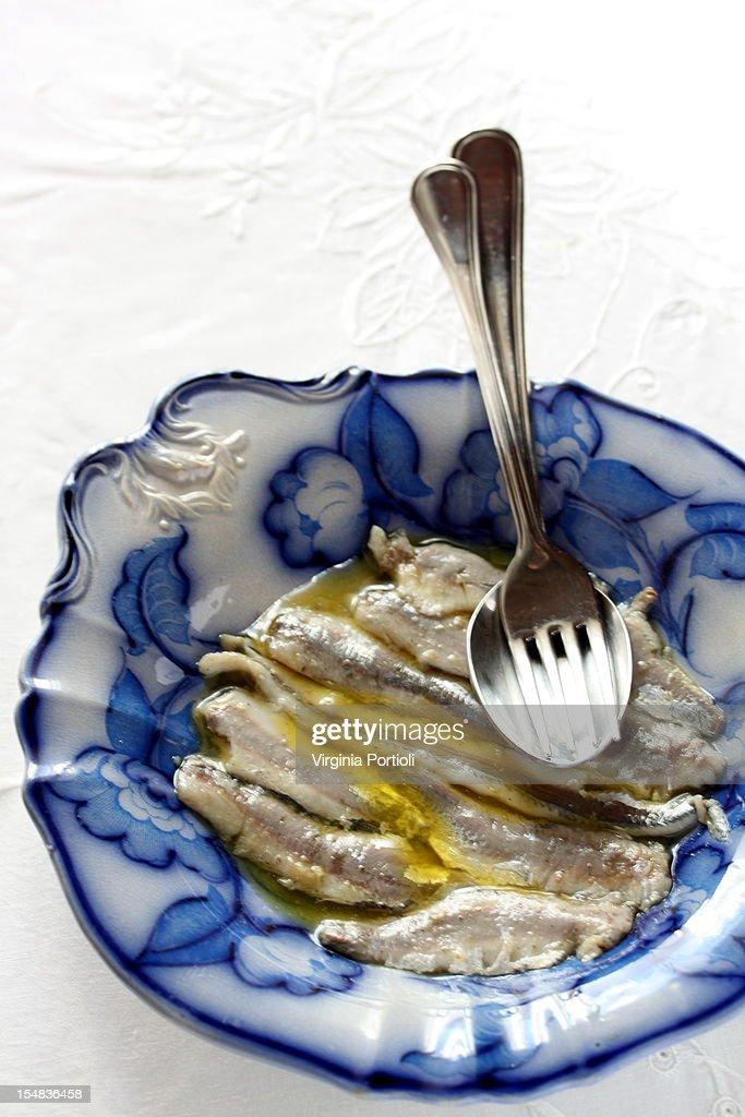 acciughe- anchovies