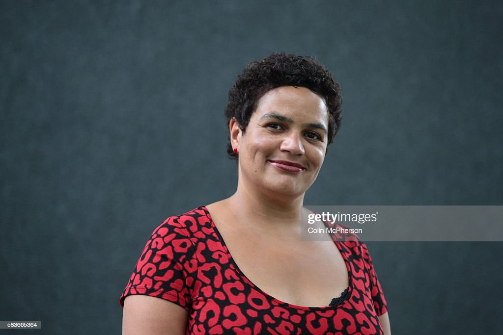 Acclaimed British poet Jackie Kay pictured at the Edinburgh International Book Festival where she talked about her work. The book festival is the world's largest literary event and features writers from around the world. The 2007 event featured around 550 writers and ran from 11-27 August.