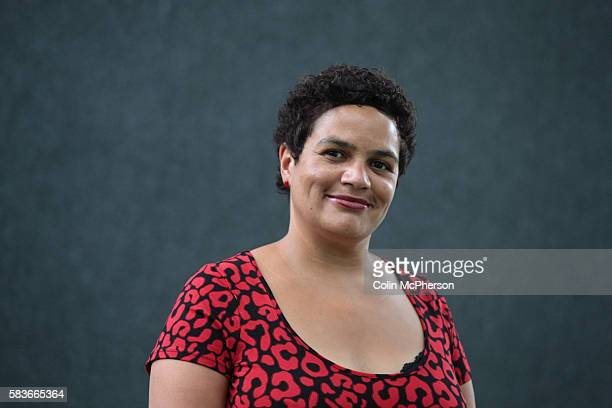 Acclaimed British poet Jackie Kay pictured at the Edinburgh International Book Festival where she talked about her work The book festival is the...