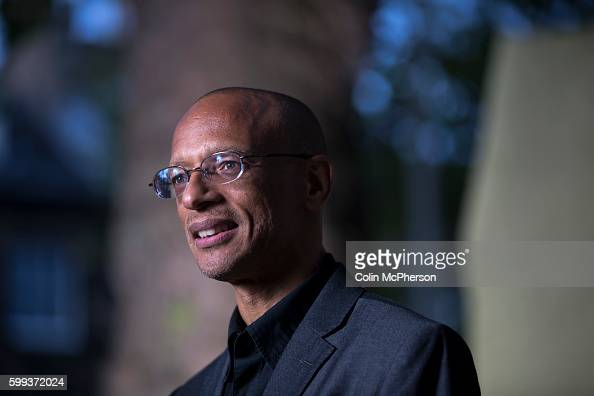 Acclaimed BritishGuyanese poet and writer Fred D'Aguiar pictured at the Edinburgh International Book Festival where he talked about his new book...