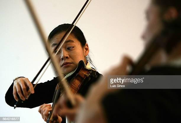 Acclaimed violinist Midori Goto teaches at USC's Thornton School of Music