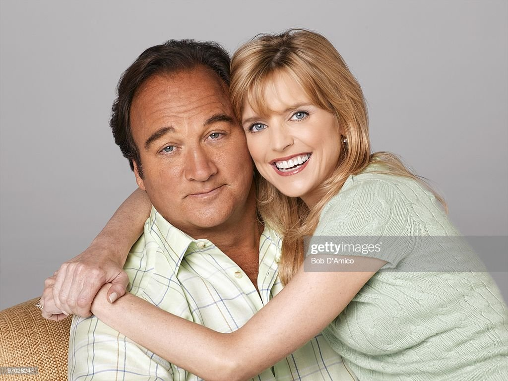 JIM - 'According to Jim' stars Jim Belushi as Jim and Courtney Thorne-Smith as Cheryl.