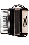 image of accordion isolated on white background