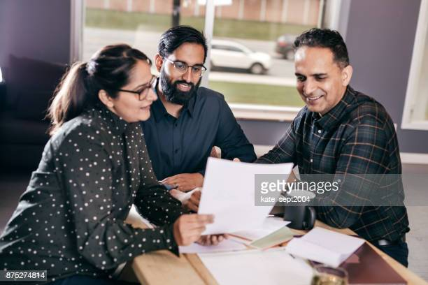 Accountant giving best advise