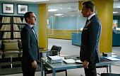 SUITS 'Accounts Payable' Episode 602 Pictured Patrick Fischler as Elliott Stemple Gabriel Macht as Harvey Specter