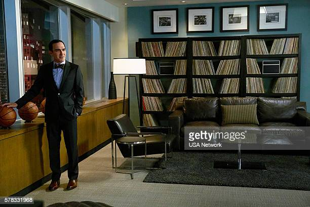SUITS 'Accounts Payable' Episode 602 Pictured Patrick Fischler as Elliott Stemple