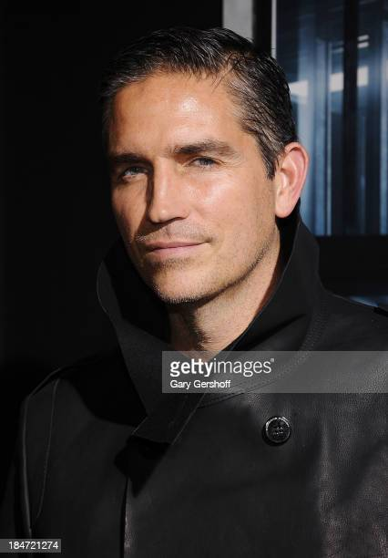 Acctor Jim Caviezel attends the 'Escape Plan' New York Premiere at Regal EWalk on October 15 2013 in New York City