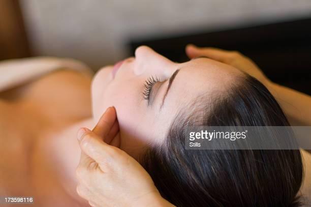 Akupressur spa-Behandlung