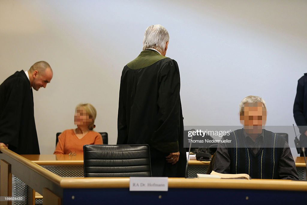 Accused Russian spies with the aliases Andreas (R) and Heidrun (L) Anschlag appear in court on the first day of their trial on January 15, 2013 in Stuttgart, Germany. The couple came to Germany in 1988, reportedly as KGB spies, and continued operating for the modern Russian intelligence service while maintaining a front as immigrants from South America until their arrest in late 2011 by German police. Among the couple's biggest coups was recruiting Dutch Foreign Ministry worker Raymond Valentino Poeteray, who sold them top secret NATO documents. The couple also had a daughter while living in Germany who is now in her early 20's and reportedly knew nothing of her parents' true identity and espionage activities. German law enforcement authorities came onto the Anschlags' trail following the arrests last year of 10 Russian spies in the United States.
