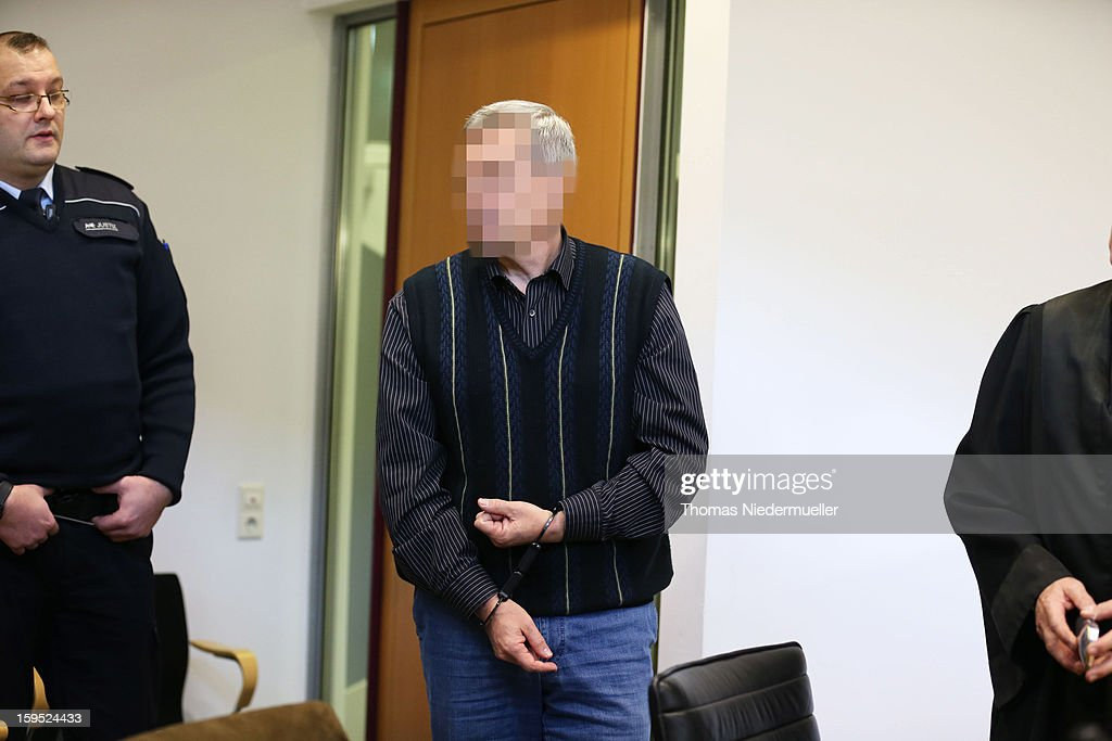 Accused Russian spy with the alias Andreas Anschlag appear in court on the first day of his trial on January 15, 2013 in Stuttgart, Germany. The couple, with the aliases Andreas and Heidrun Anschlag, came to Germany in 1988, reportedly as KGB spies, and continued operating for the modern Russian intelligence service while maintaining a front as immigrants from South America until their arrest in late 2011 by German police. Among the couple's biggest coups was recruiting Dutch Foreign Ministry worker Raymond Valentino Poeteray, who sold them top secret NATO documents. The couple also had a daughter while living in Germany who is now in her early 20's and reportedly knew nothing of her parents' true identity and espionage activities. German law enforcement authorities came onto the Anschlags' trail following the arrests last year of 10 Russian spies in the United States.