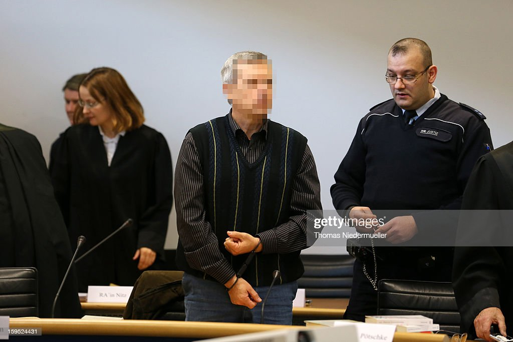 Accused Russian spy with the alias Andreas Anschlag appears in court on the first day of his trial on January 15, 2013 in Stuttgart, Germany. The couple, with the aliases Andreas and Heidrun Anschlag, came to Germany in 1988, reportedly as KGB spies, and continued operating for the modern Russian intelligence service while maintaining a front as immigrants from South America until their arrest in late 2011 by German police. Among the couple's biggest coups was recruiting Dutch Foreign Ministry worker Raymond Valentino Poeteray, who sold them top secret NATO documents. The couple also had a daughter while living in Germany who is now in her early 20's and reportedly knew nothing of her parents' true identity and espionage activities. German law enforcement authorities came onto the Anschlags' trail following the arrests last year of 10 Russian spies in the United States.