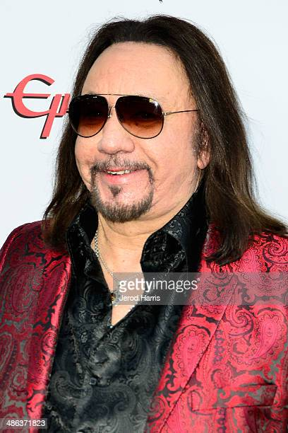 Ace Fehley arrives at the 2014 Revolver Golden Gods Awards at Club Nokia on April 23 2014 in Los Angeles California