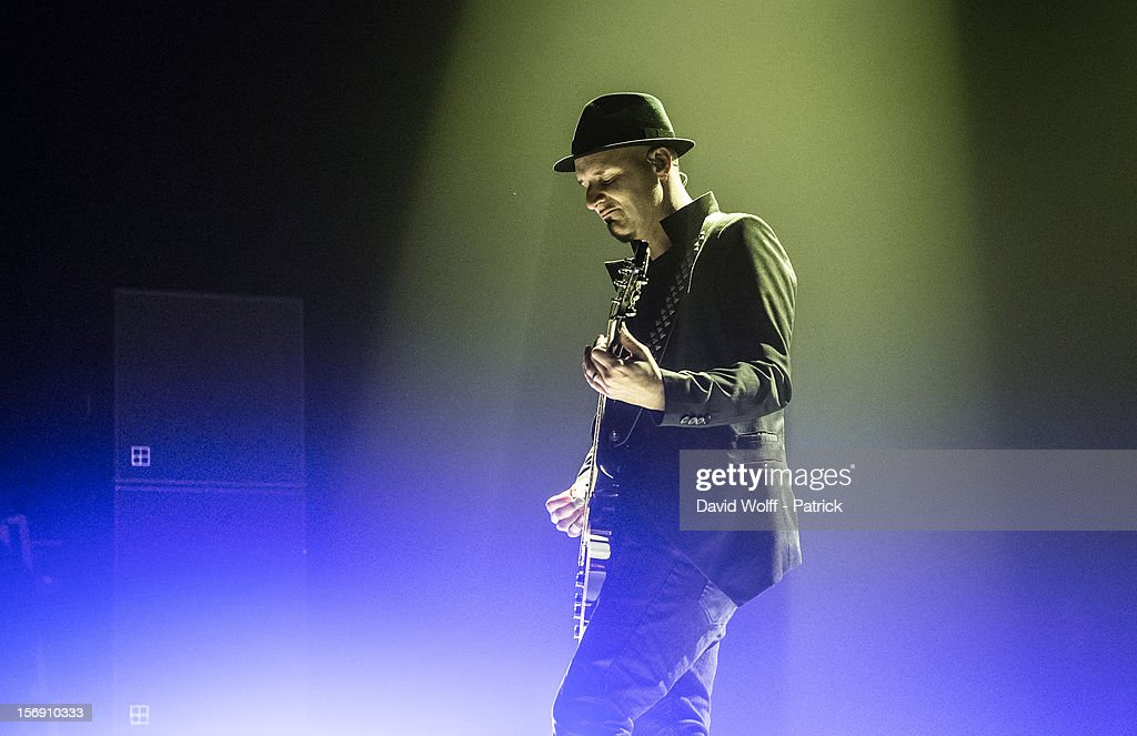 Ace from Skunk Anansie performs at Le Zenith on November 24, 2012 in Paris, France.