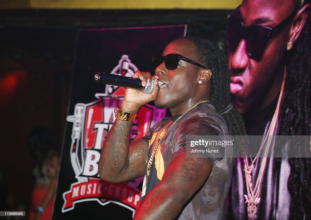 Ace Hood attends Ace Hood Album Release Party at Webster Hall on July 18, 2013 in New York City.