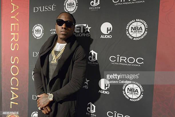 Ace Hood attends the NBPA AllStar Players Social at Capitale on February 14 2015 in New York City