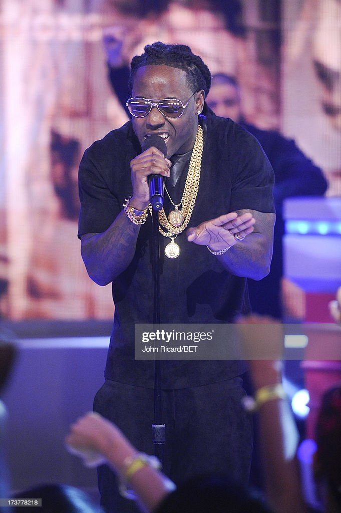 Ace Hood visits BET's 106 & Park at BET Studios on July 17, 2013 in New York City.