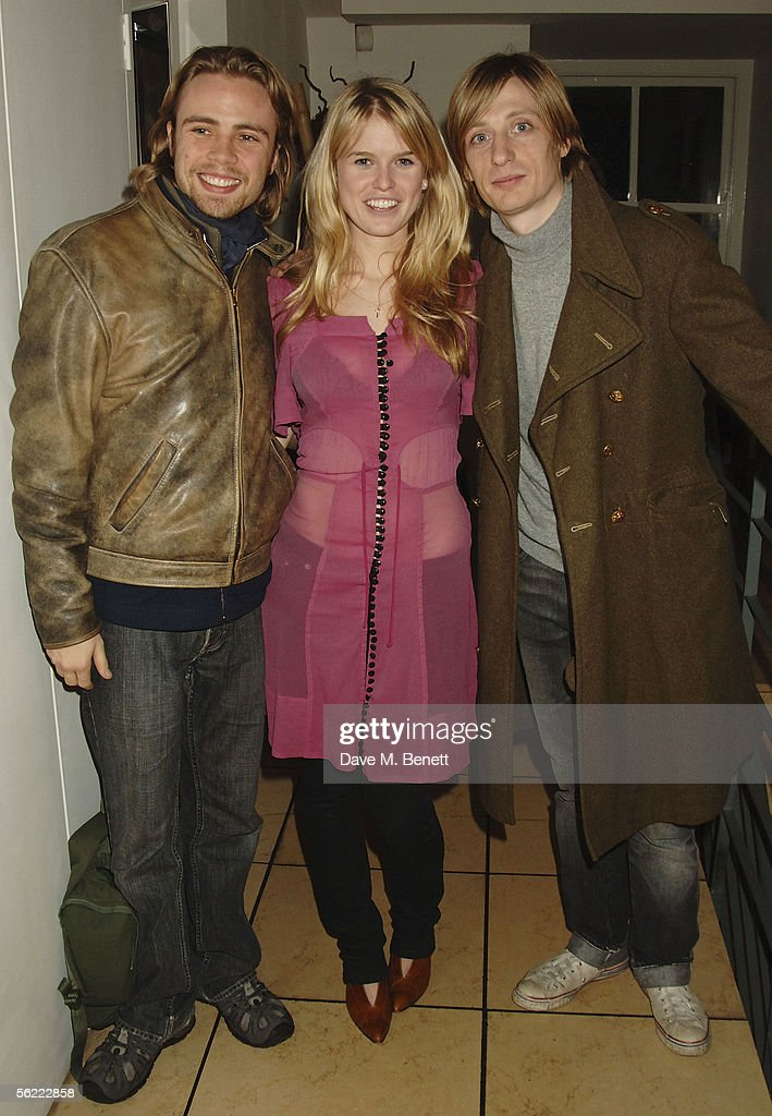 Ace Lawson, Alice Eve and Crispian Mills attend the aftershow party followlng the UK Premiere of 'Stoned,' at Century on November 17, 2005 in London, England. The British film chronicles the life and death of Rolling Stones co-founder Brian Jones, found drowned just weeks after being let go from the band.