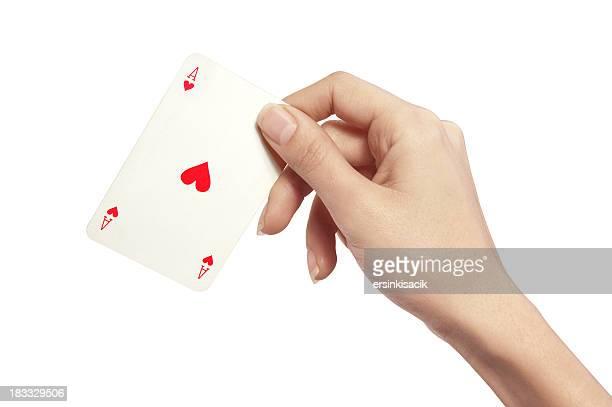 Herzas In Frau Hand