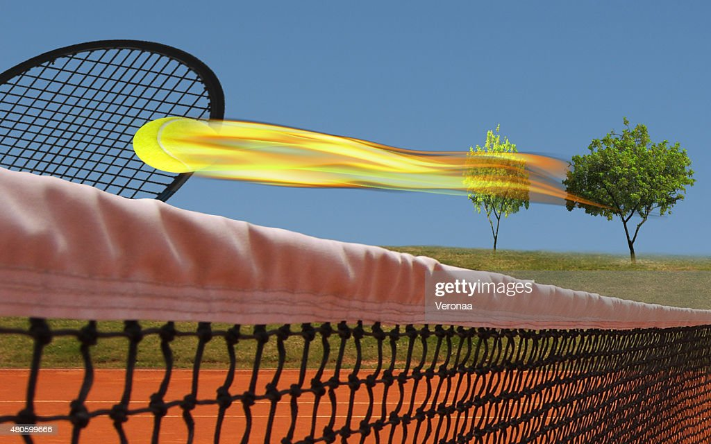 Ace of tennis : Stock Photo