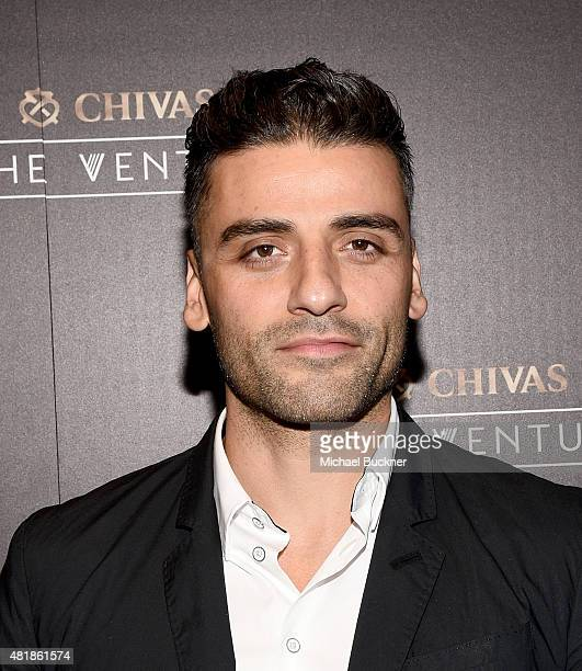 Acgtor Oscar Isaac attends Chivas Regal's The Venture Final Pitch on July 24 2015 in San Francisco California