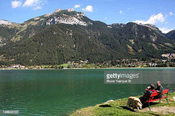 Achensee lake.