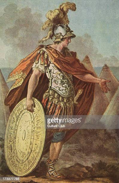 Achilles after the death of Patrocles Character design after the production of the opera Achilles for the Academie Royale de Musique 1789