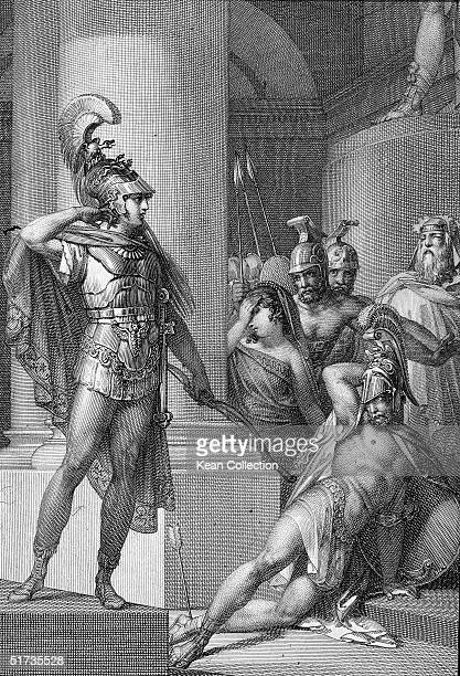 Achilles chief hero of the Trojan War is killed by an arrow to the heel from Paris's bow Legend states that Achilles protagonist of Homer's epic poem...