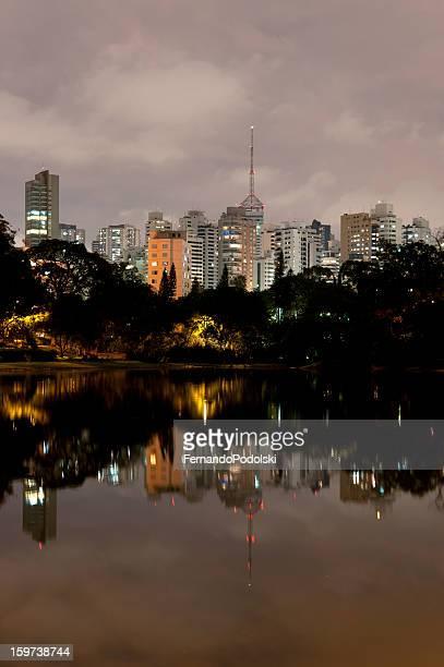 Aclimação Park in São Paulo, Brazil
