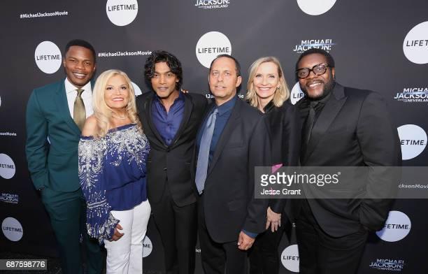 Acor Sam Adegoke executive producer Suzanne de Passe actor Navi executive producer Bob Teitel EVP Head of Programming for Lifetime Liz Gateley and...