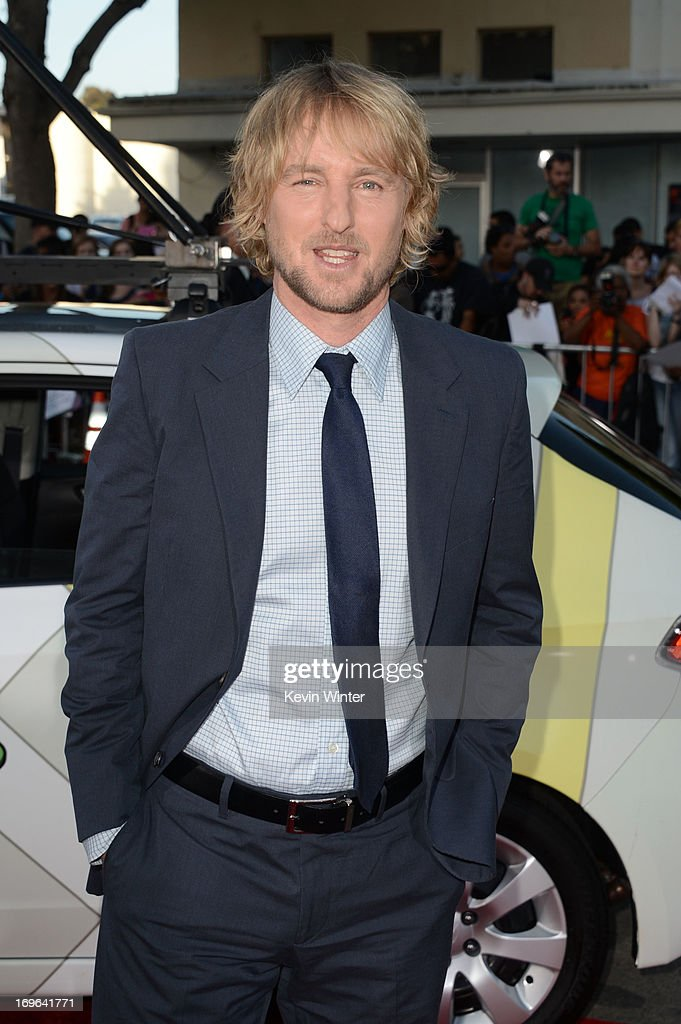 Acotr <a gi-track='captionPersonalityLinkClicked' href=/galleries/search?phrase=Owen+Wilson&family=editorial&specificpeople=202027 ng-click='$event.stopPropagation()'>Owen Wilson</a> arrives at the premiere of Twentieth Century Fox's 'The Internship' at Regency Village Theatre on May 29, 2013 in Westwood, California.