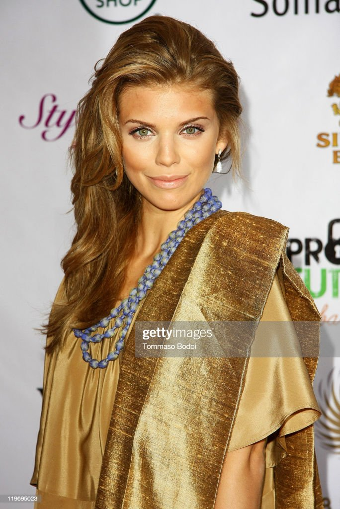 Acress AnnaLynne McCord attends the Somaly Mam Foundation's Project Futures Global Campaign launch event held at the SLS Hotel on July 23, 2011 in Beverly Hills, California.