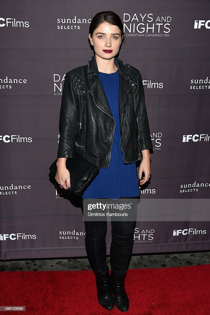 Acress Eve Hewson attends the premiere of 'Days And Nights' at the IFC Center on September 25 2014 in New York City
