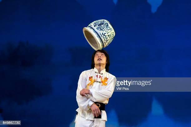 Acrobat performance Shanghai Centre Shanghai China Shanghai Centre Shanghai Zaji Tuan