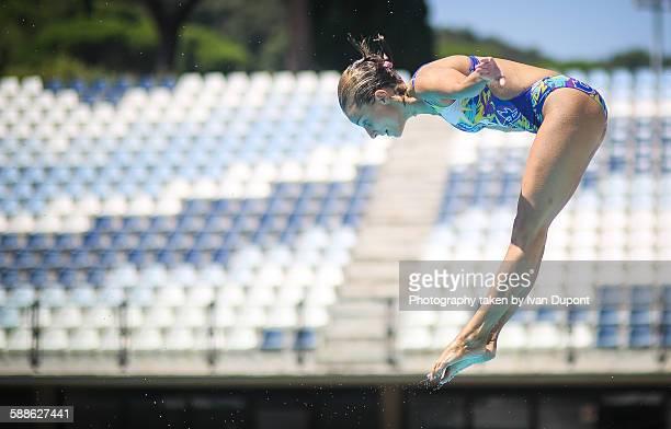 Acrobatic dive