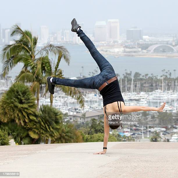 Acrobatics in San Diego, California