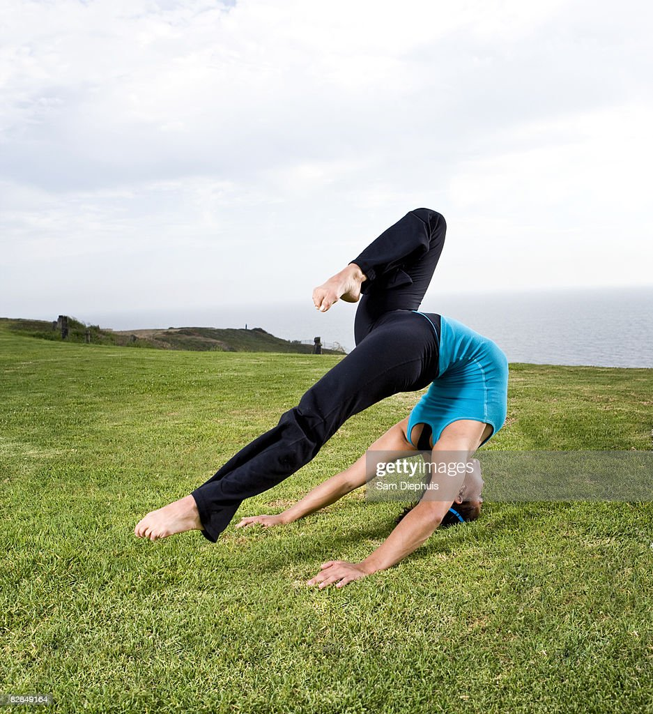 Acrobats and Contortionists : Stock Photo