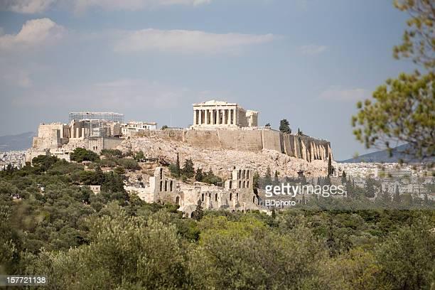 Acropole d'Athènes, en Grèce