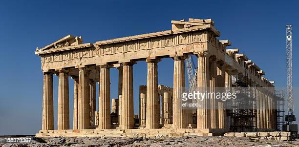 Akropolis von Athen den Parthenon