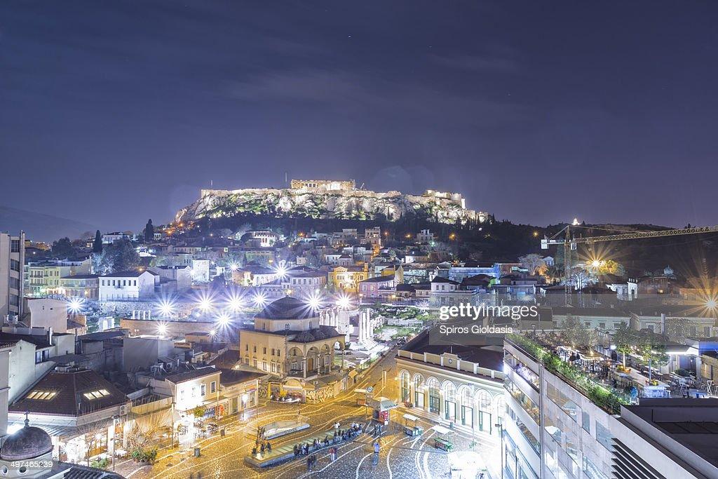 Acropolis of Athens : Stock Photo