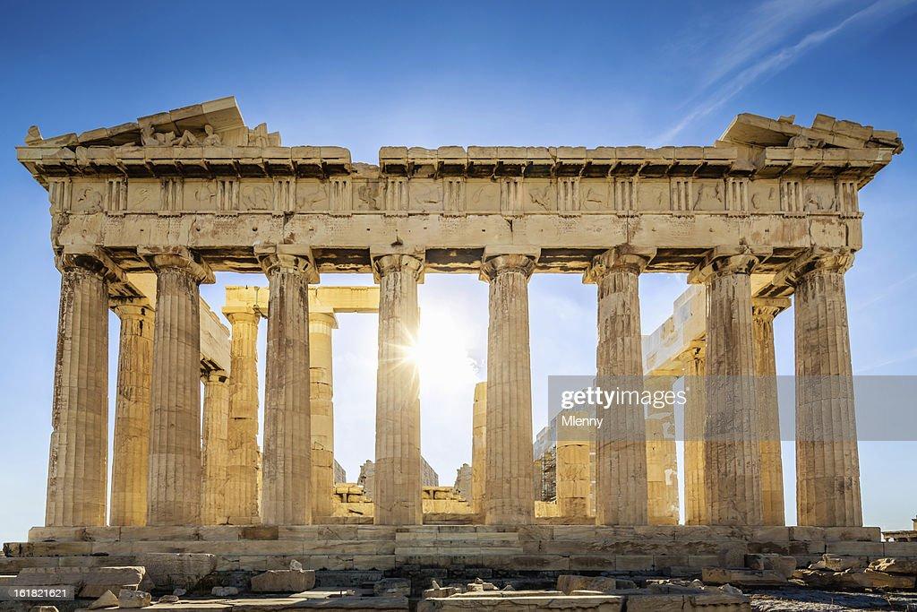 Acropolis Parthenon Temple,Athens,Greece