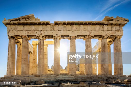Acropolis Parthenon Temple,Athens,Greece