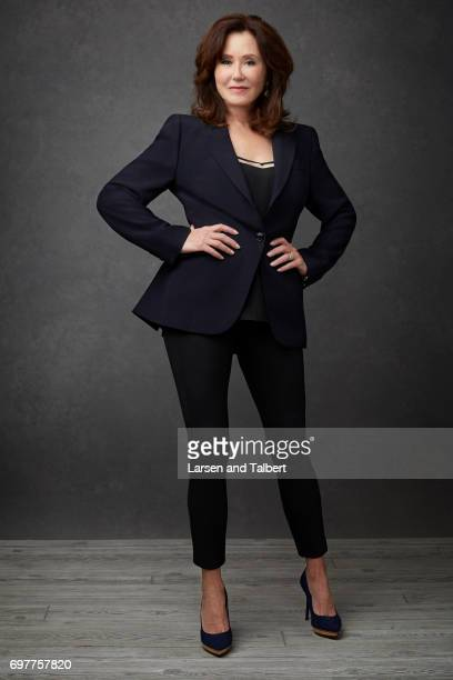 Acrtress Mary McDonnell is photographed for Entertainment Weekly Magazine on June 9 2017 in Austin Texas