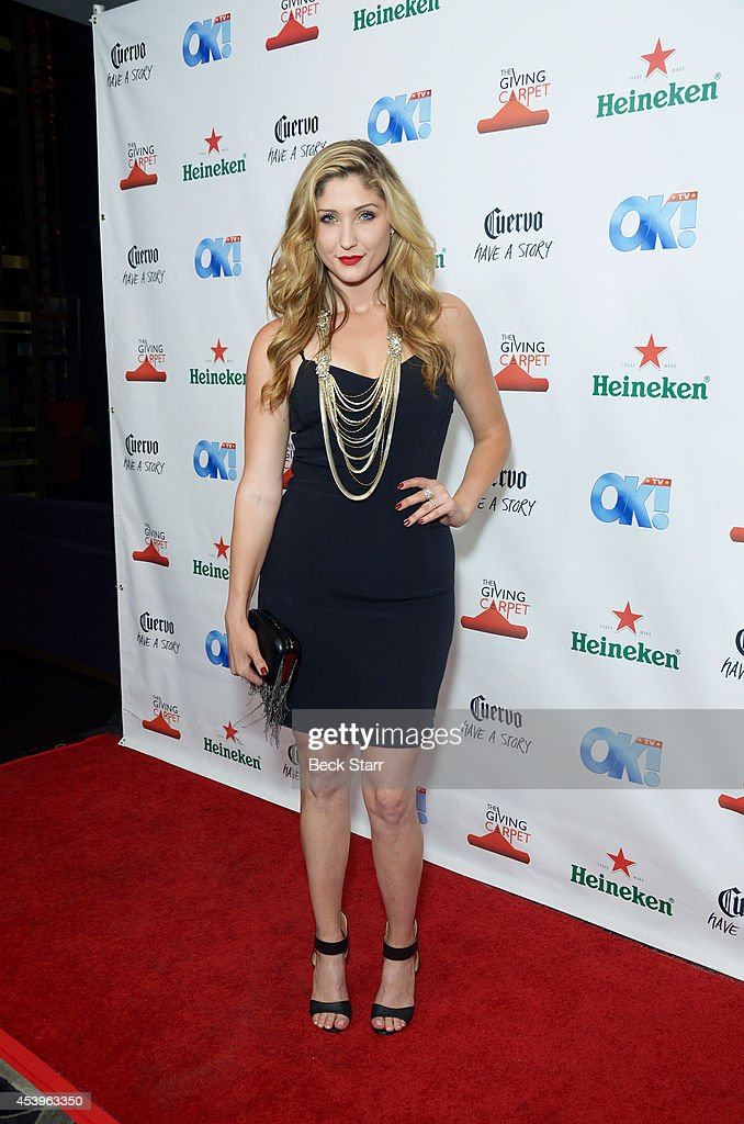 Acrtress Taylor Ann Hasselhoff arrives at OK! TV Emmy pre-awards party honoring the Emmy nominees and presenters at Sofitel Hotel on August 21, 2014 in Los Angeles, California.