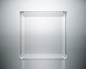acrylic box abstract.