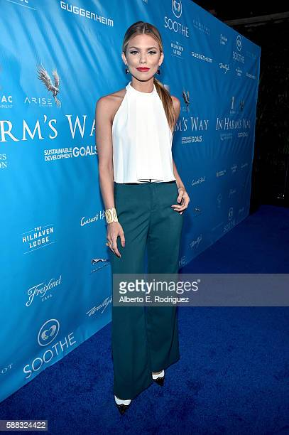 Actcress AnnaLynne McCord attends the special event for UN SecretaryGeneral Ban Kimoon hosted by Brett Ratner and David Raymond at Hilhaven Lodge on...