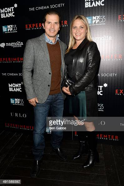 Acter John Leguizamo and wife Justine Maurer attend the party for the 53rd New York Film Festival's premiere of Magnolia Pictures' 'Experimenter'...